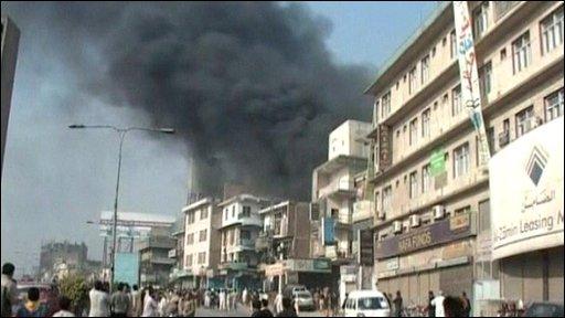 Peshawar bomb attack