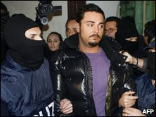 Suspected Mafia leader Gianni Nicchi was arrested in  Palermo