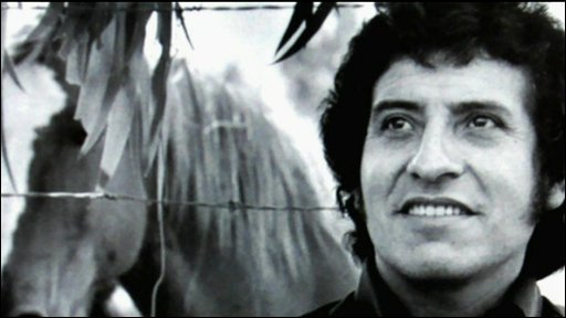 Victor Jara, folk singer and political activist