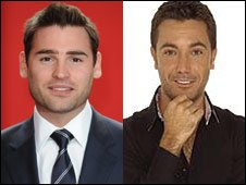  Gino Stuart Manning (left) and Gino D'Acampo