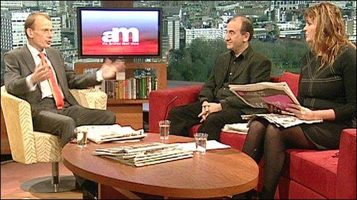 Andrew Marr, Armando Iannucci, Janine di Giovanni