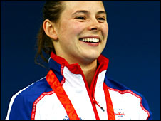 Paralympic champion Liz Johnson