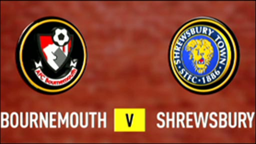 Bournemouth 1-0 Shrewsbury