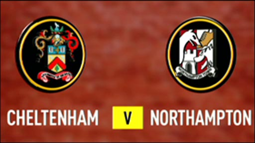 Cheltenham 2-2 Northampton