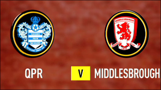 QPR 1-5 Middlesbrough