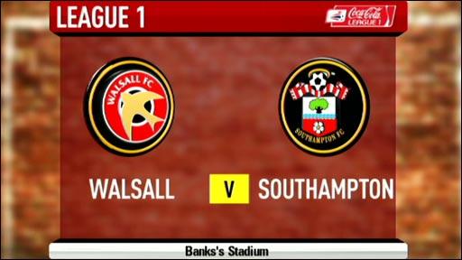 Walsall 1-3 Southampton