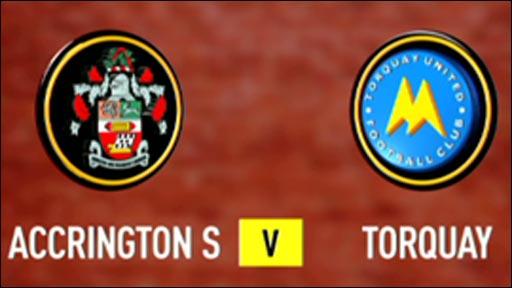 Accrington Stanley 4-2 Torquay