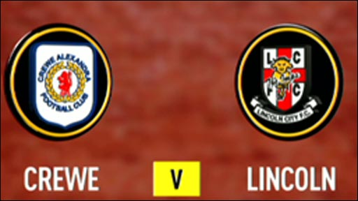 Crewe 0-0 Lincoln City
