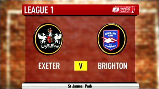 Exeter 0-1 Brighton