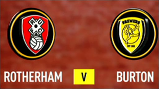 Rotherham 2-2 Burton Albion