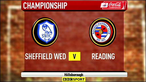 Sheffield Wednesday v Reading
