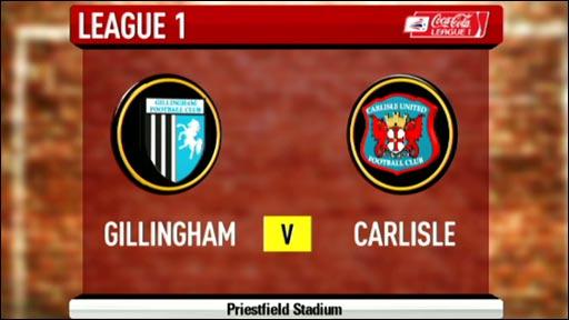 Gillingham 0-0 Carlisle