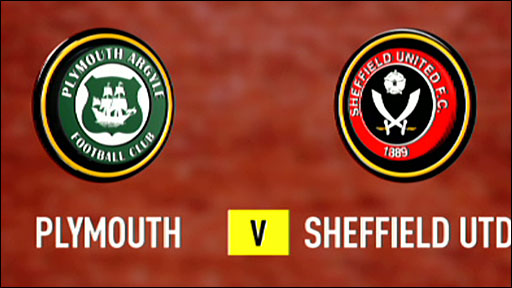 Plymouth  0-1 Sheffield United