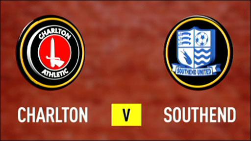 Charlton 1-0 Southend