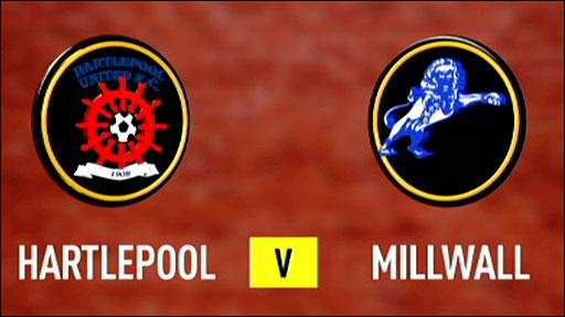 Hartlepool 3-0 Millwall