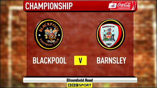 Blackpool 1-2 Barnsley