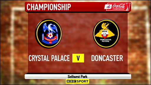Crystal Palace 0-3 Doncaster