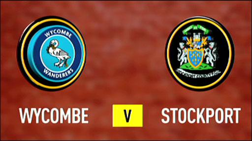 Wycombe 2-1 Stockport