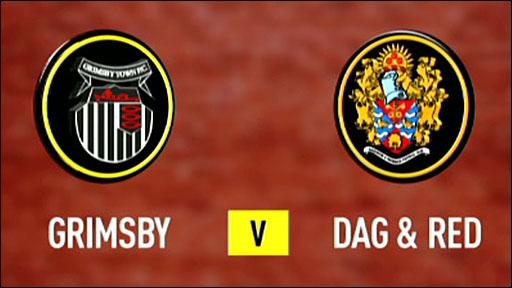 Grimsby 1-1 Dagenham & Redbridge