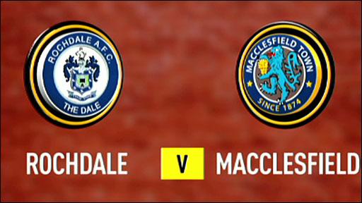 Rochdale 3-0 Macclesfield