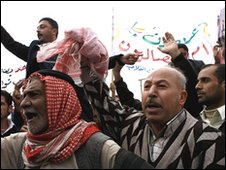Protests in Mosul, November 2009