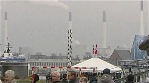 Pollution from chimneys