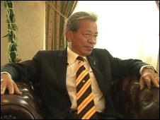 James Masing, the Sarawak Cabinet Minister for Land Use.