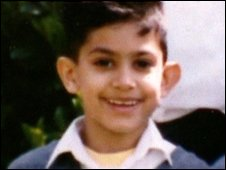Adam Khatib as a child