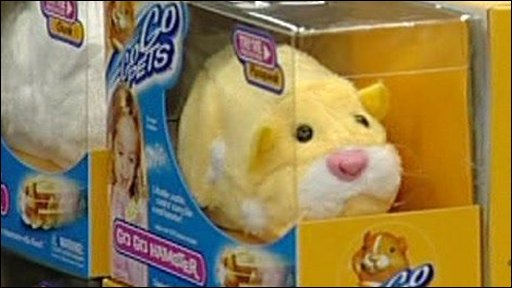 Go Go Hamster toy