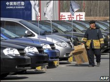 Cars for sale in China
