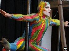 Cirque du Soleil acrobat