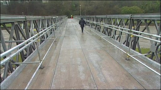 Workington's new bridge