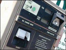 A parking ticket machine (generic)