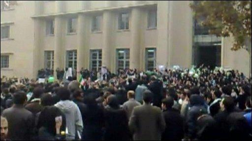 Demonstration in Tehran
