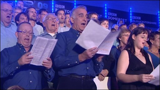 BBC Bristol Choir opens Sports Awards