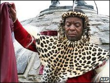 Zulu King Goodwill Zwelithini , file image
