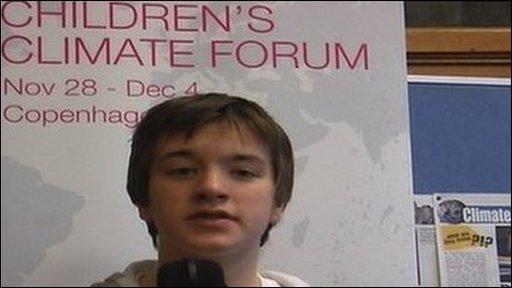 UNICEF young ambassador