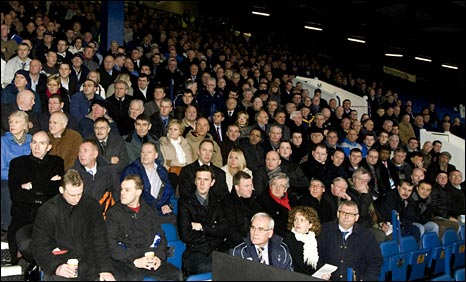 Rangers shareholders gather for the annual meeting