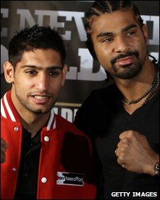 Amir Khan and David Haye
