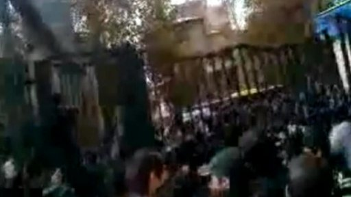 Protests at Tehran University