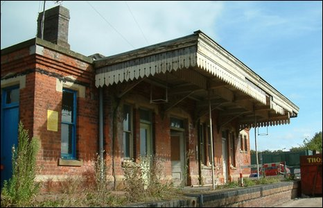 Raglan station in Monmouthshire could become a museum exhibit