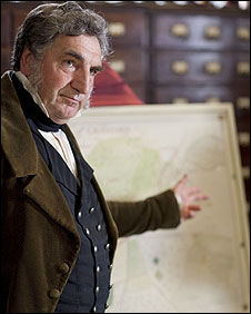 Captain Brown (Jim Carter) in Cranford