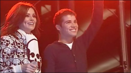 Joe McElderry and Cheryl Cole
