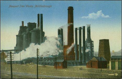 Newport Ironworks. Picture: Dorman Museum.