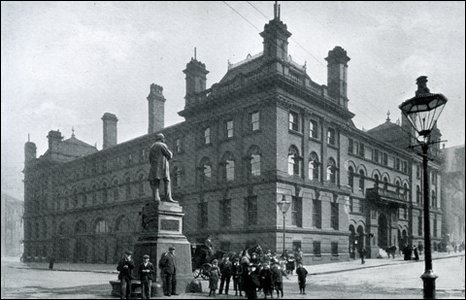 Middlesbrough's Royal Exchange. Picture : The Dorman Museum.