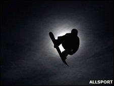 Snowboarder. Image: Allsport