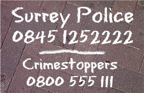 Surery Police contact numbers