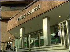 Ealing Council building