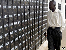 Post office boxes in Abuja, Nigeria