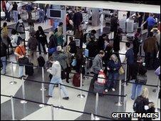 O'Hare Airport, Chicago (25 Nov 2009)